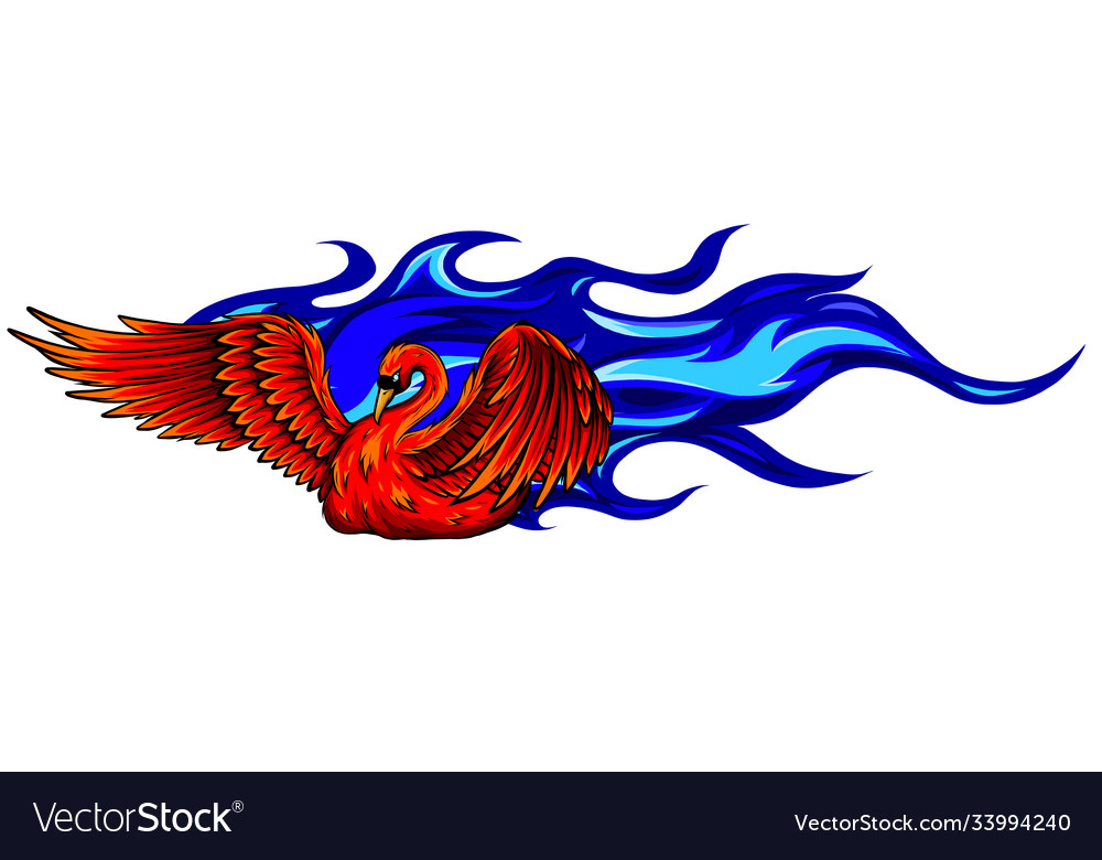 Image a swan represented in form of