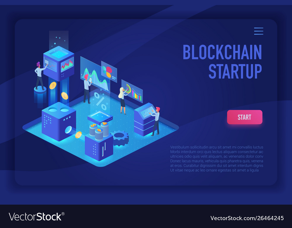 Blockchain startup team cryptocurrency and