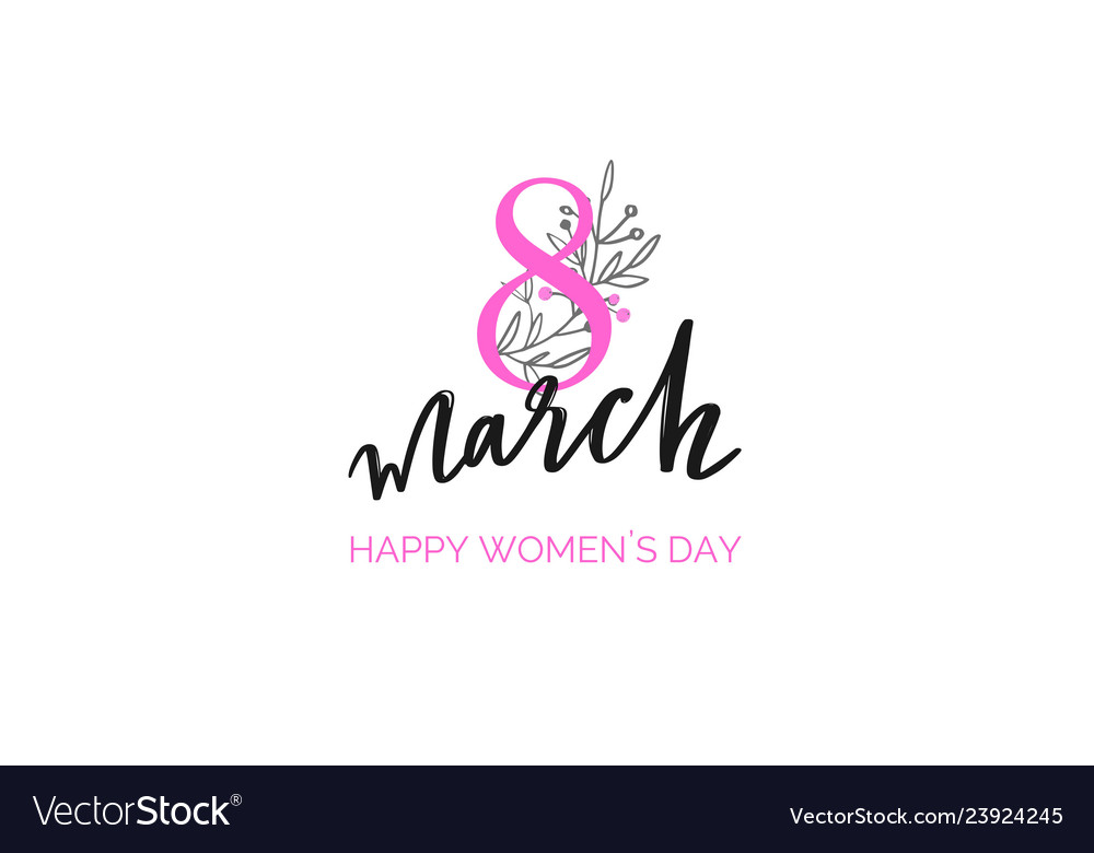 Happy international women s day holiday