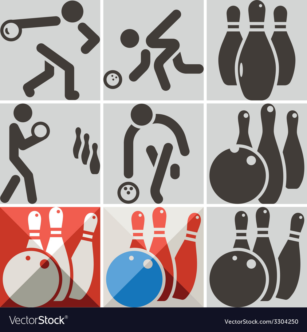 Bowiling icons