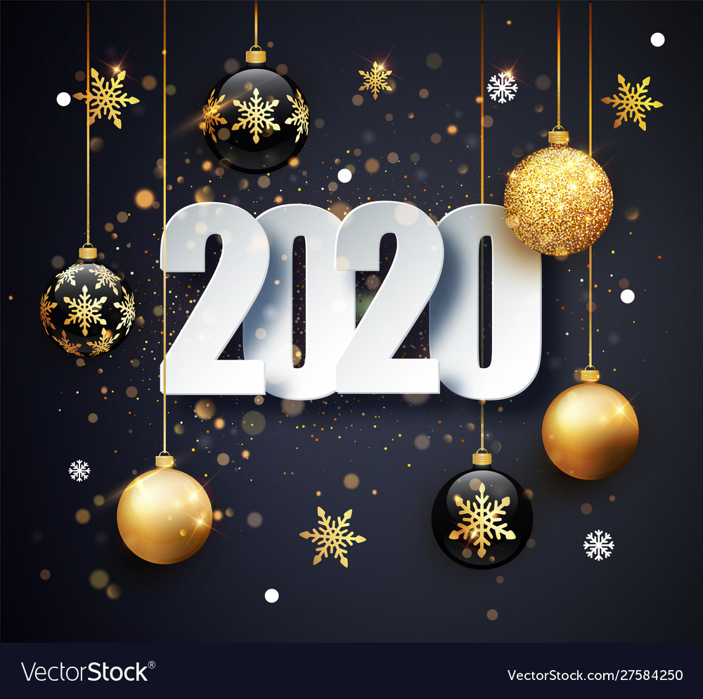 Happy new 2020 year holiday