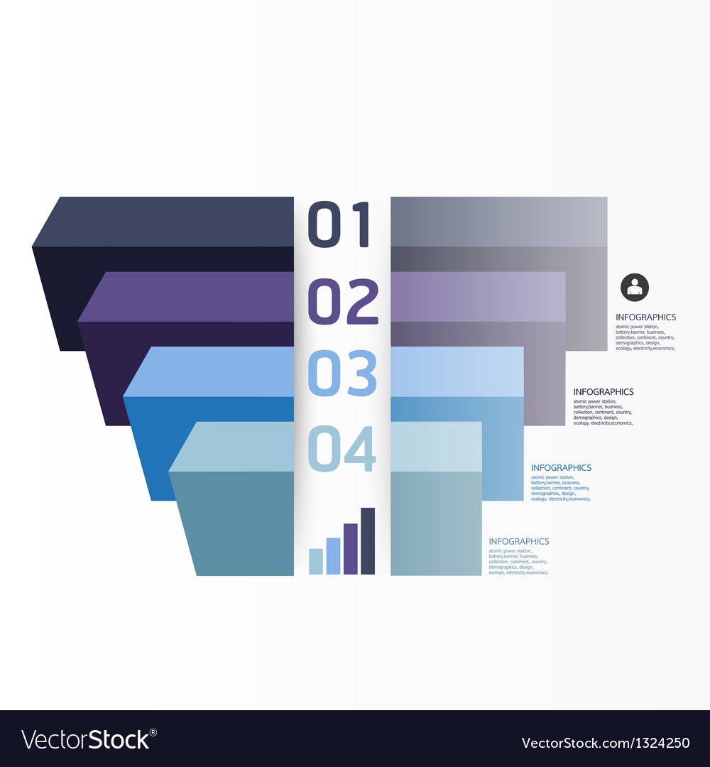 modern graph design template royalty free vector image