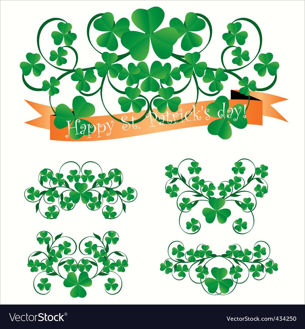 St Patrick ornaments