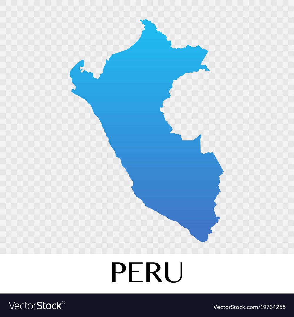 Peru map in south america continent design vector image gumiabroncs Gallery