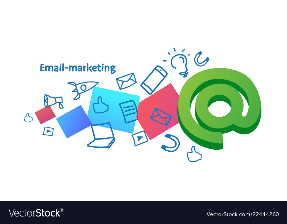 E-marketing advertising campaign email marketing