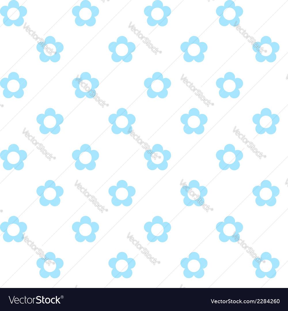 Light blue flowers seamless pattern fabric texture light blue flowers seamless pattern fabric texture vector image izmirmasajfo