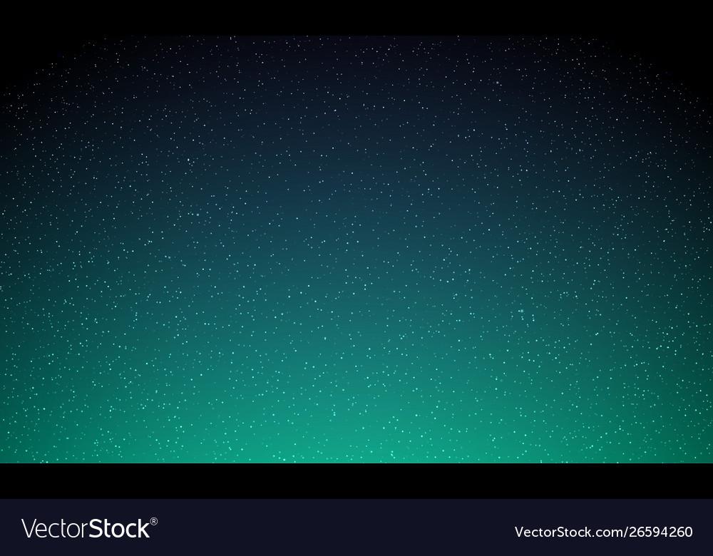 Stars in night sky starry light galaxy space