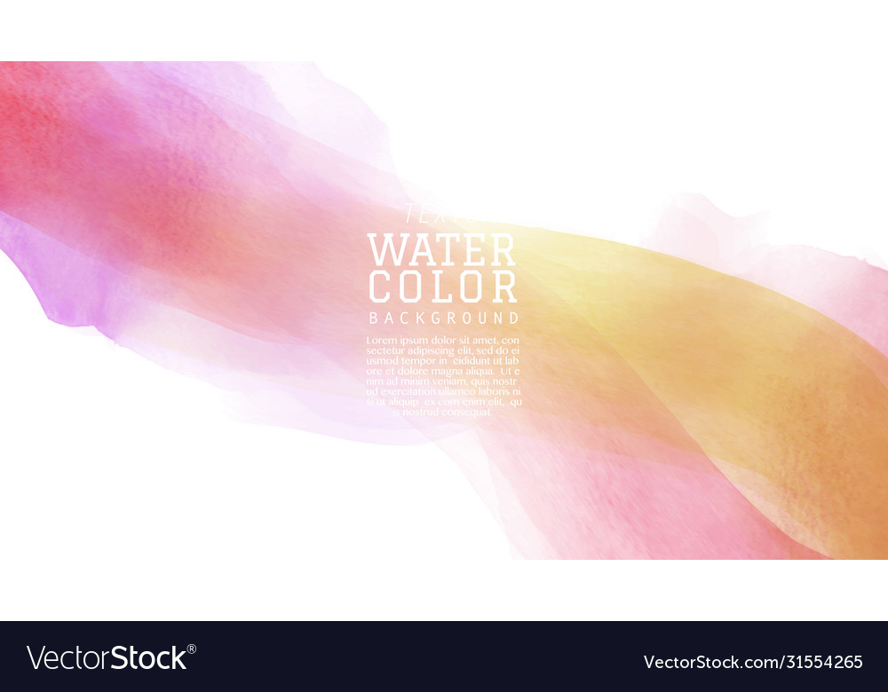 Purple red tone watercolor brush background