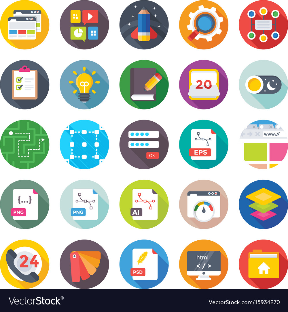 Web design and development icons 15