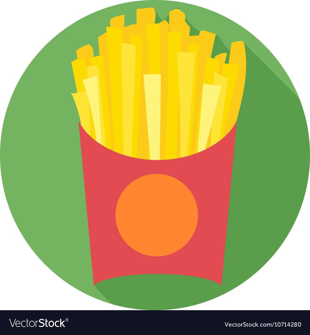 Digital potatoe french fries chips