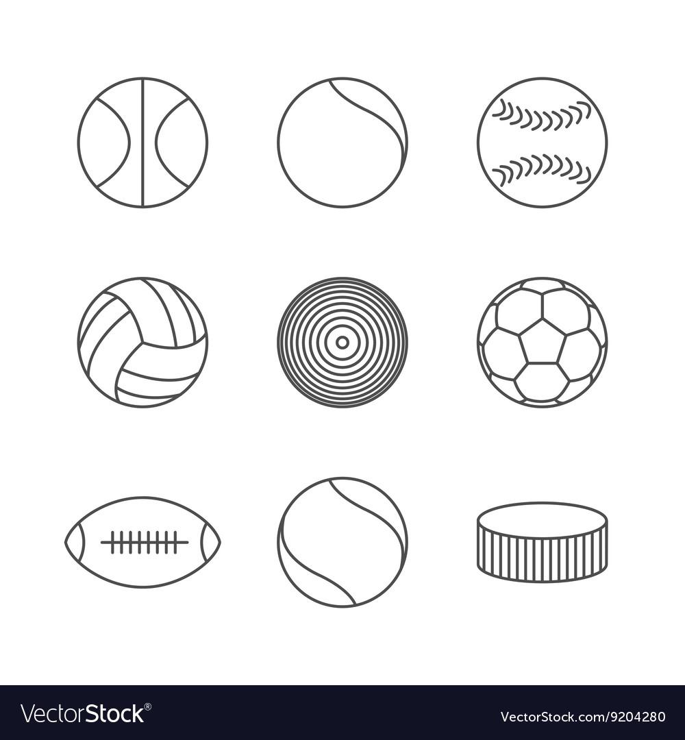 Icons balls