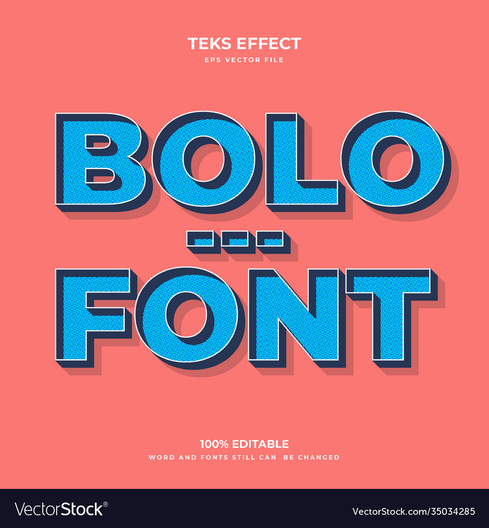 Bolo font