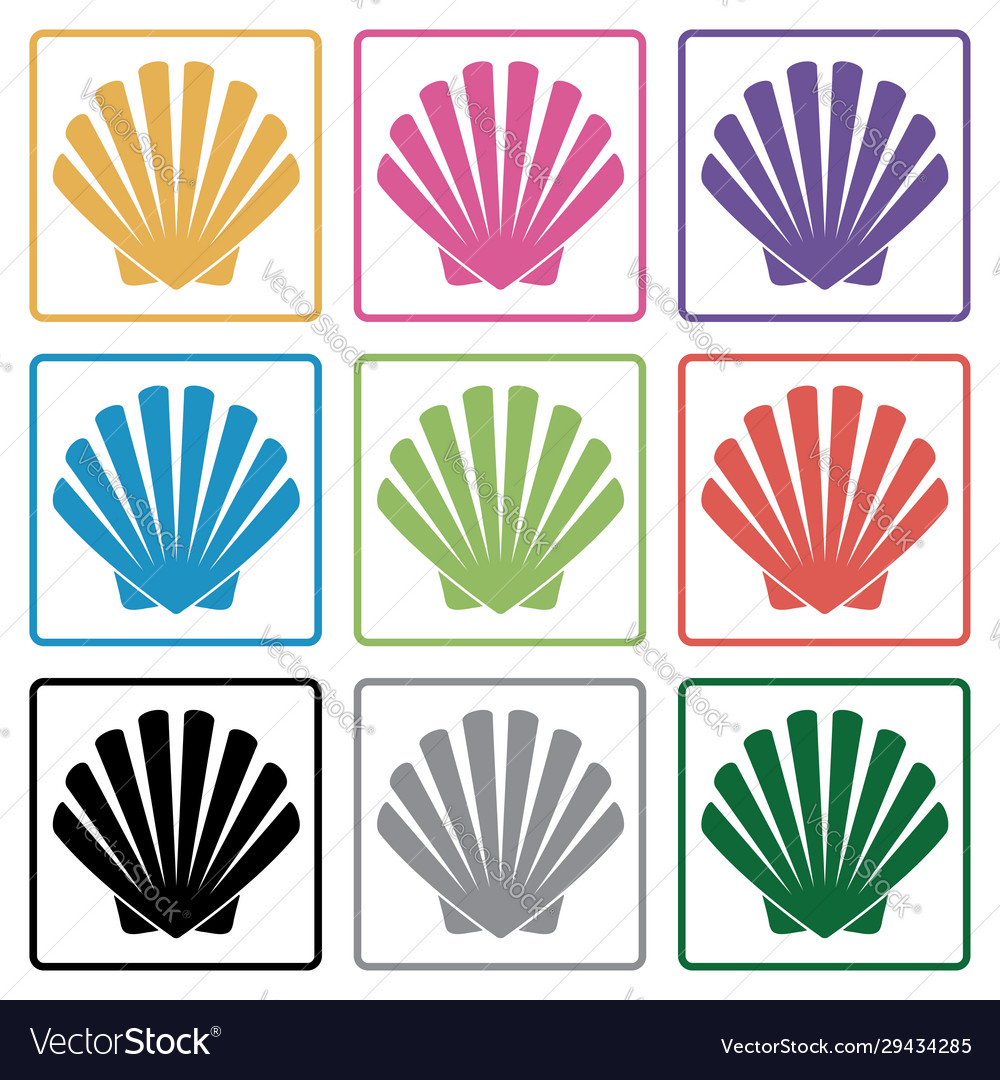 Shell icons