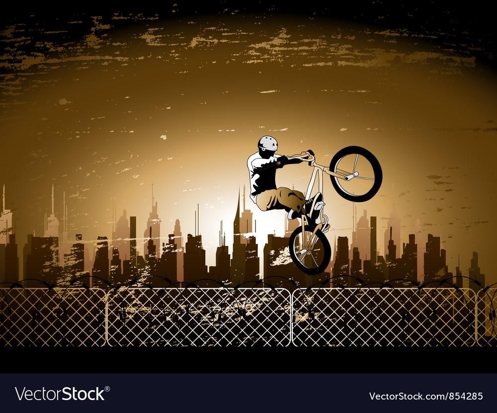 Urban vector image
