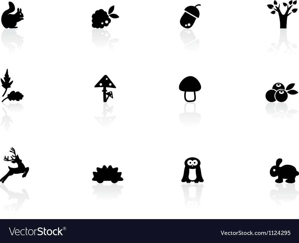 Woodland icons