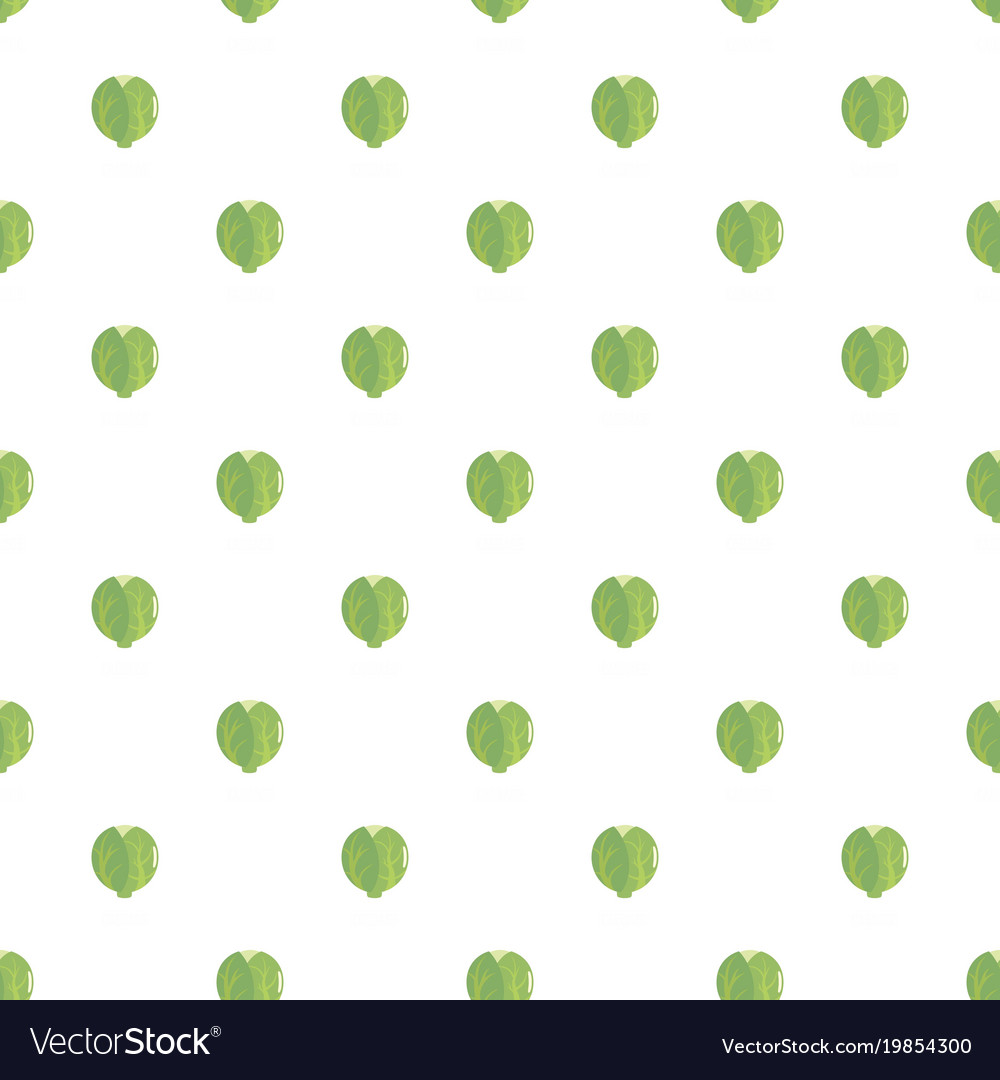 Cabbage pattern seamless