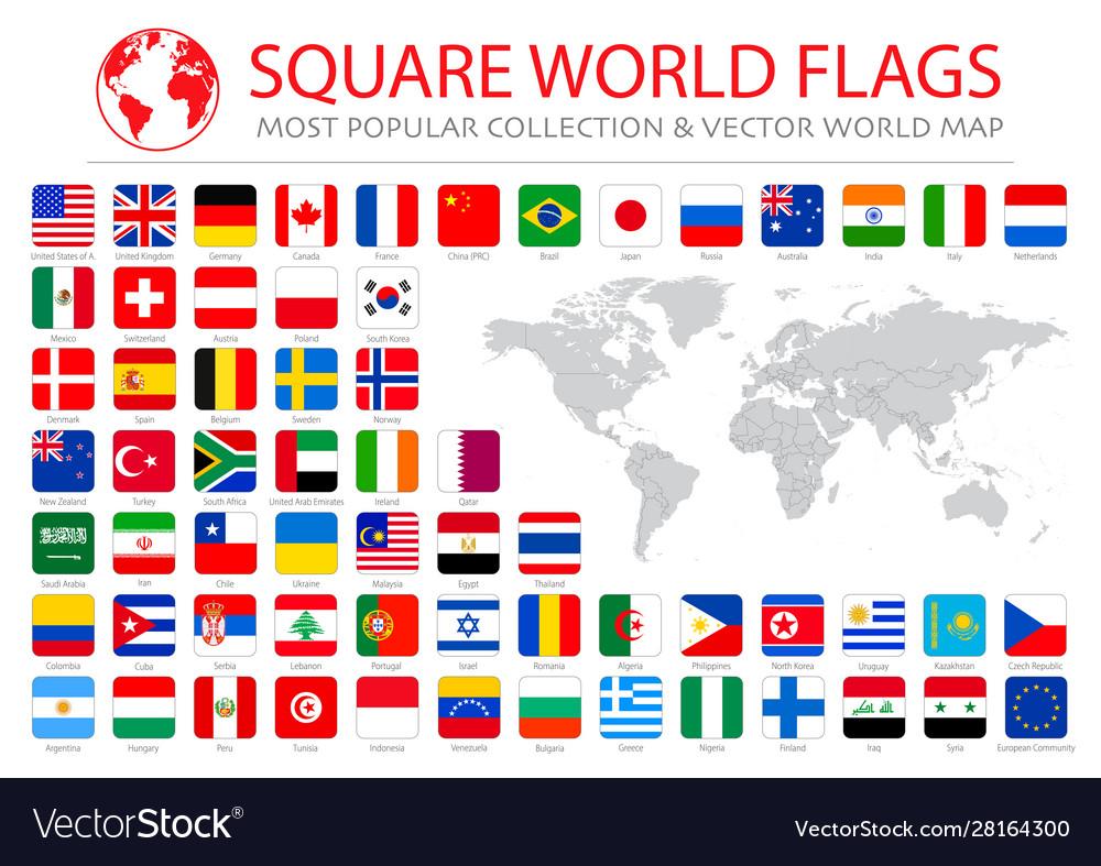 High quality collection set major world
