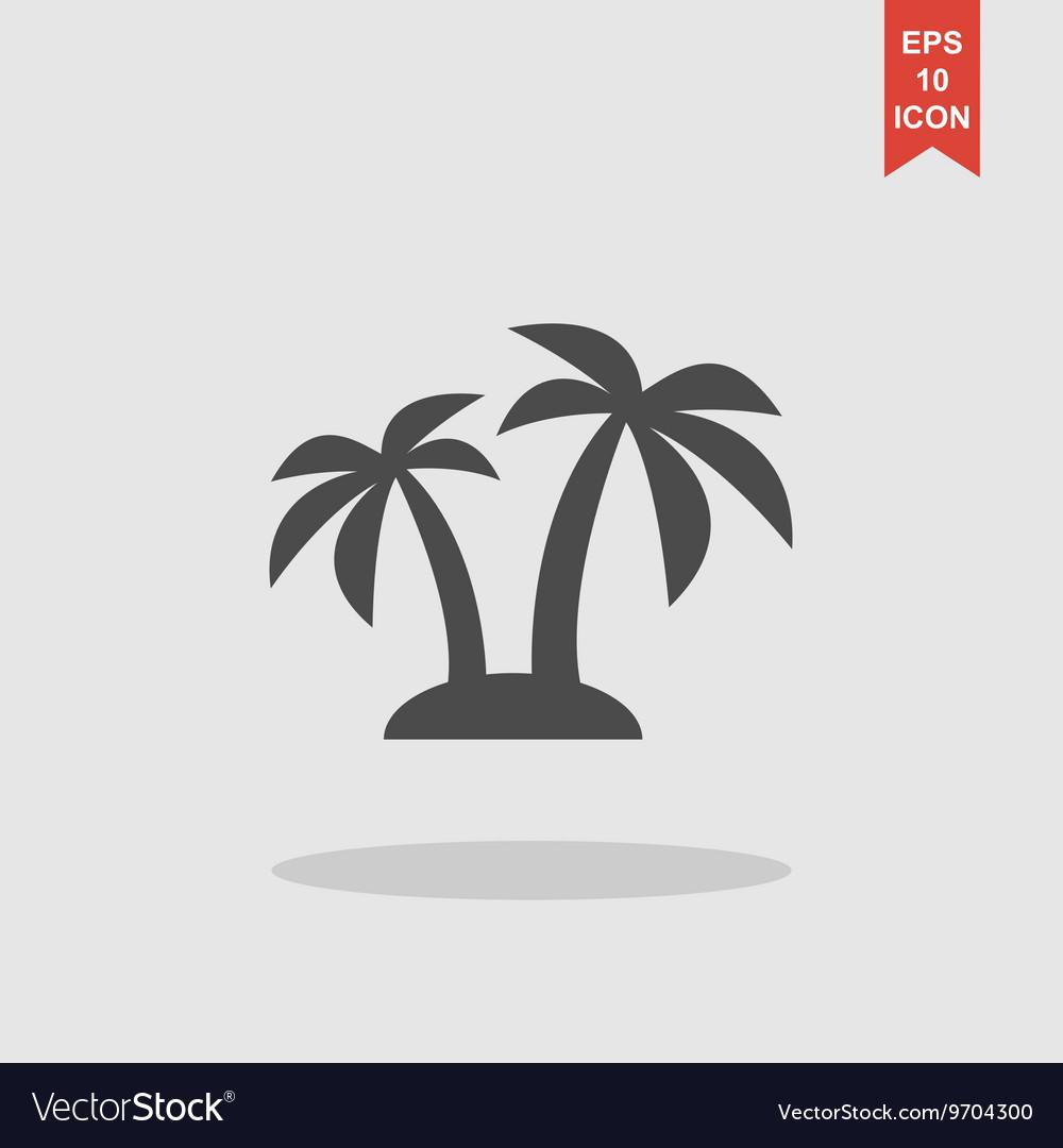 Palm icon Eps 10