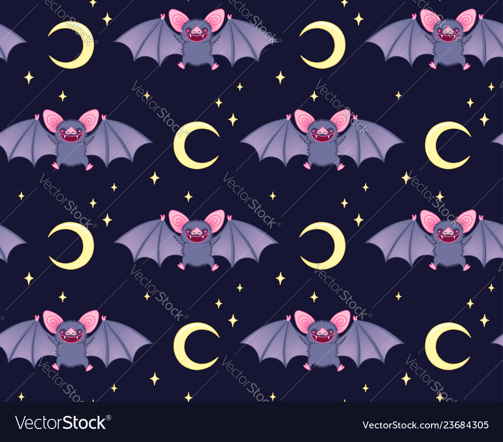 Cute bats pattern
