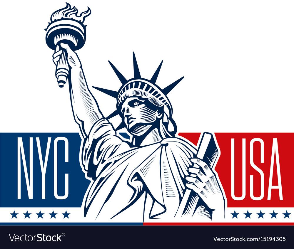 Statue of liberty nyc usa symbol