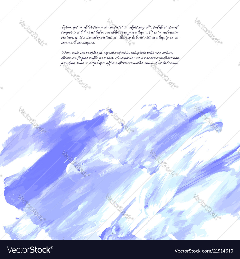 Blue purple lilac grunge marble watercolor