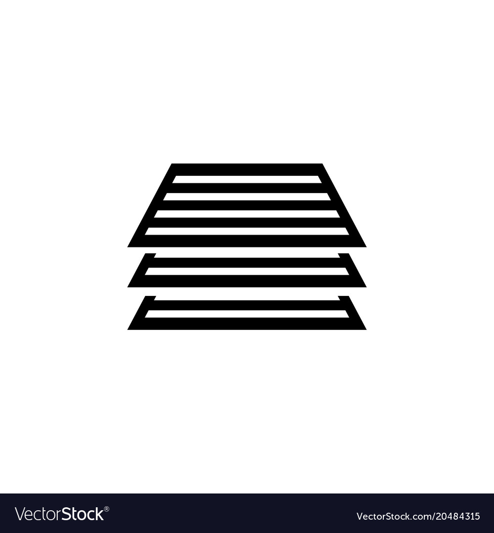 stack of papers documents flat icon royalty free vector