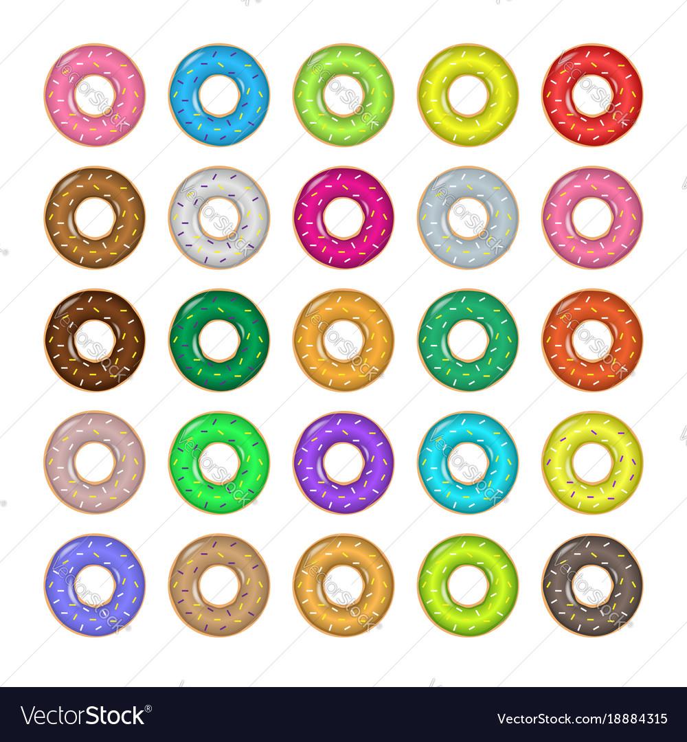 Sweet donut set
