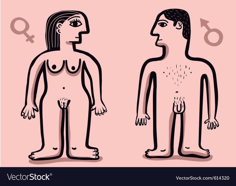 Human nude couple