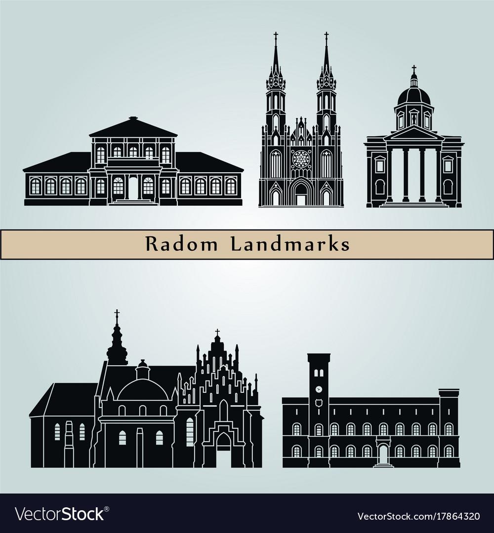 Radom landmarks