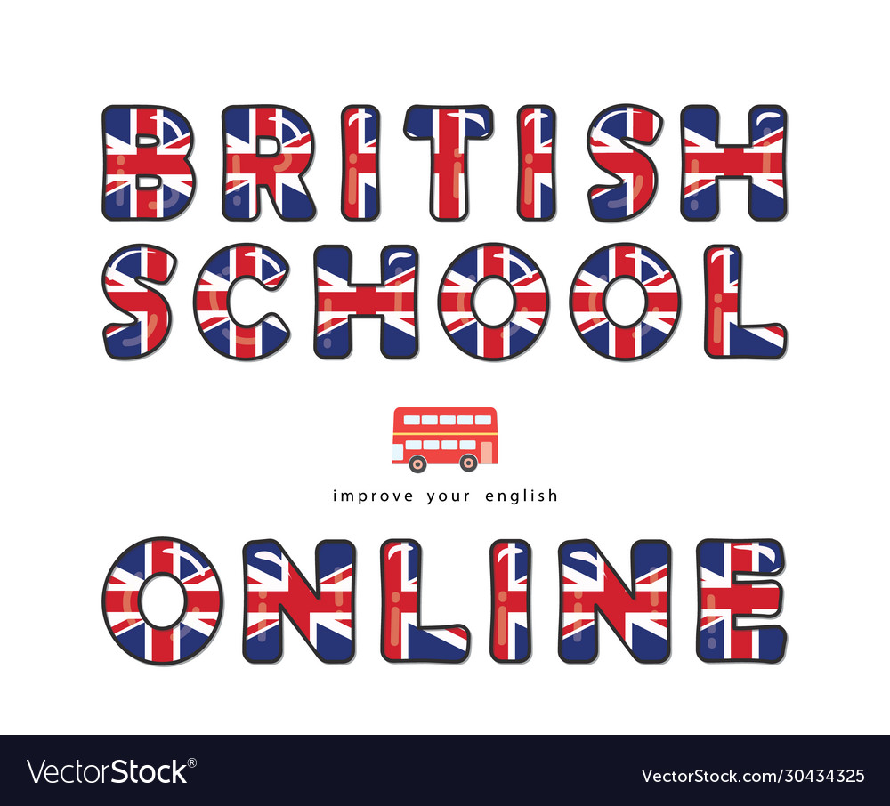 British school online english courses banner