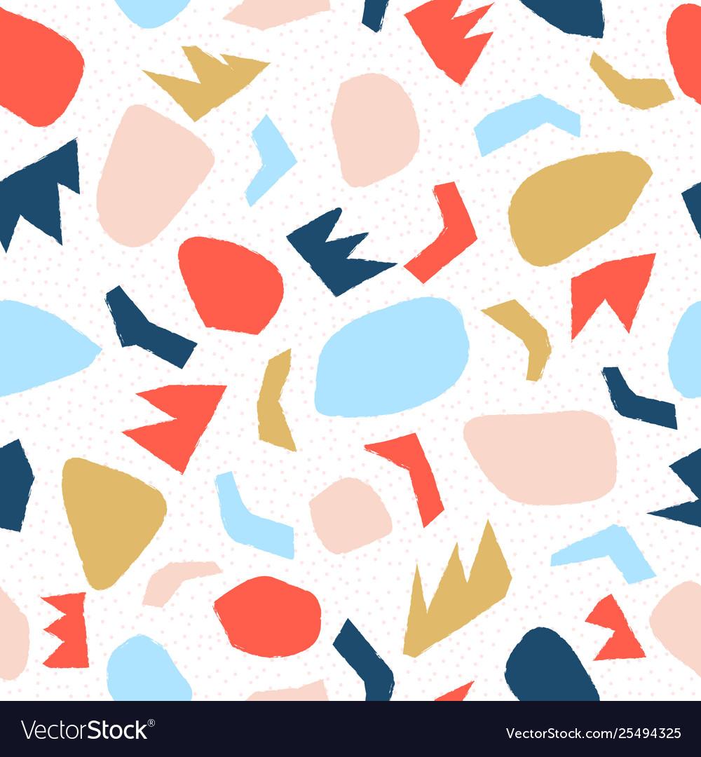 Doodle geometric pattern