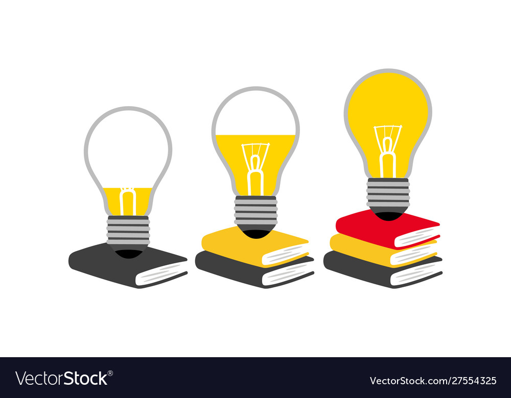 Reading and generating ideas concept
