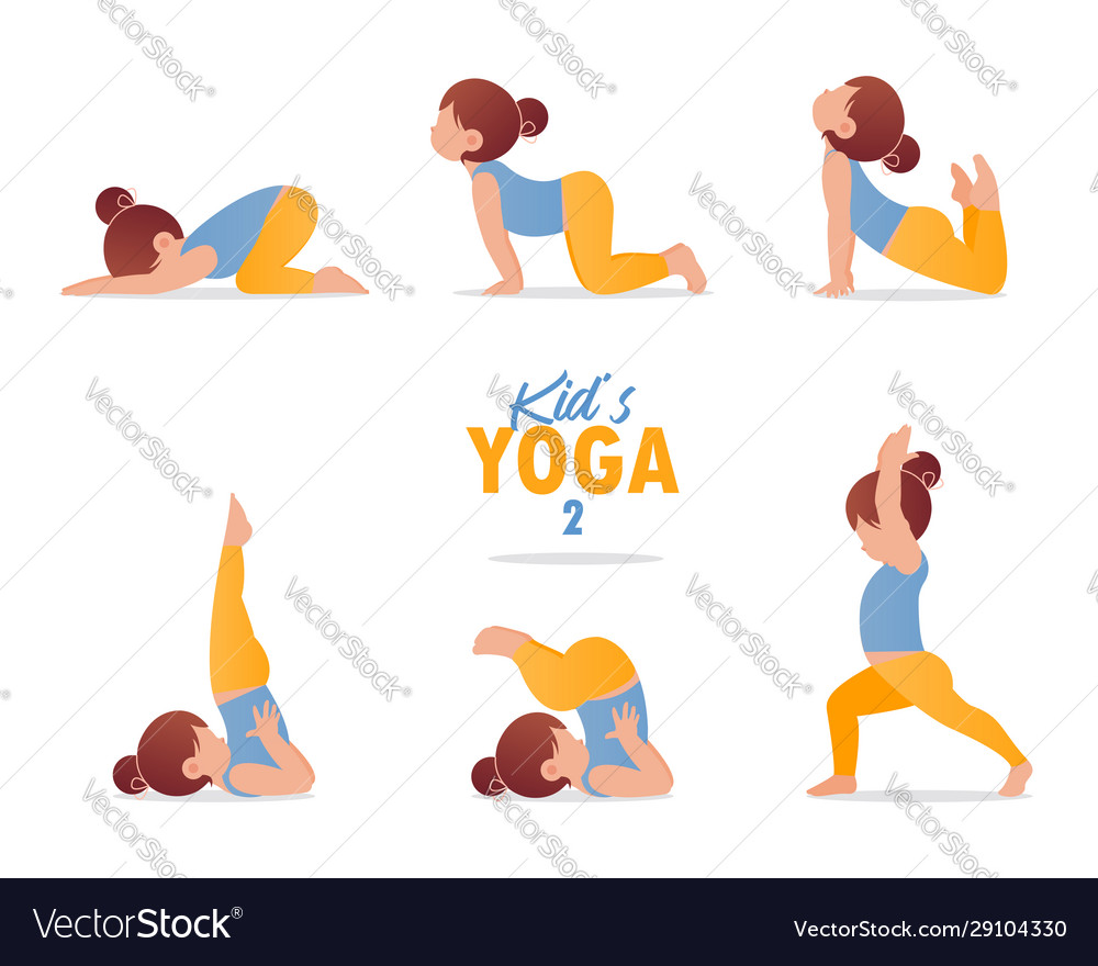 Kids yoga set gymnastics for children