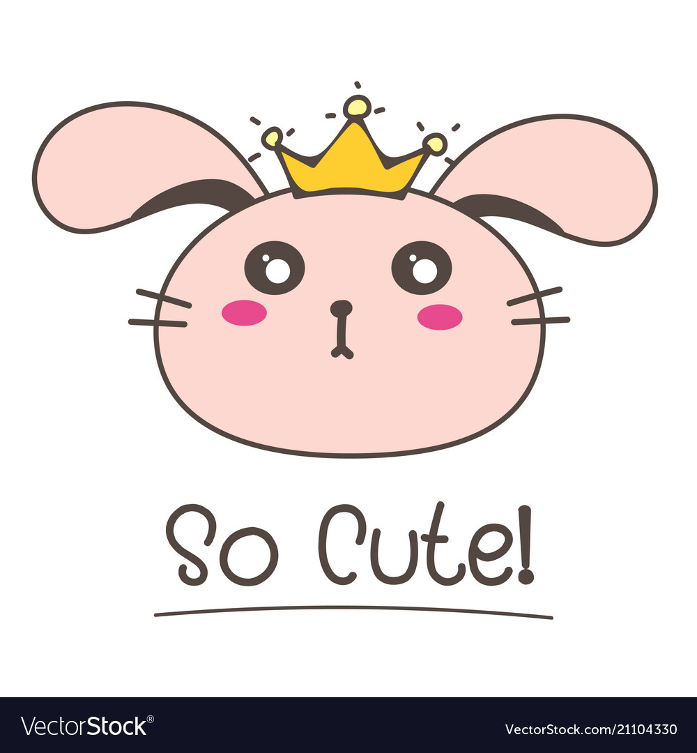 Little bunny princess so cute background