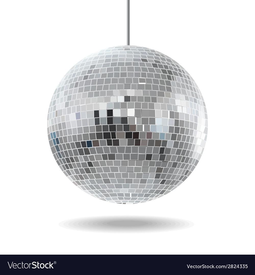 Mirror disco ball EPS10