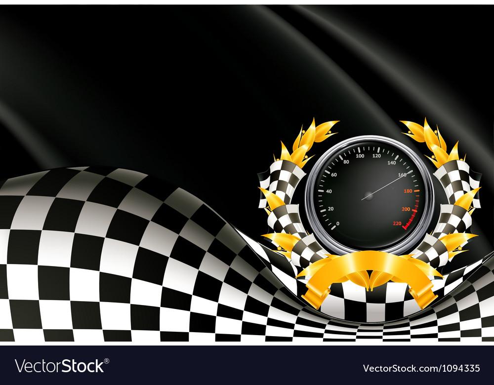 Racing Background Royalty Free Vector Image Vectorstock