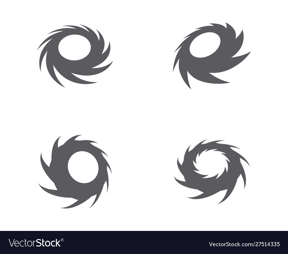 Vortex icon template