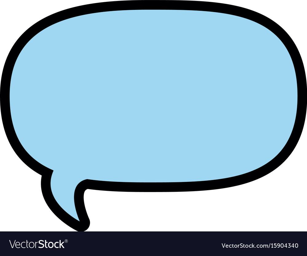 Isolated bubble speech