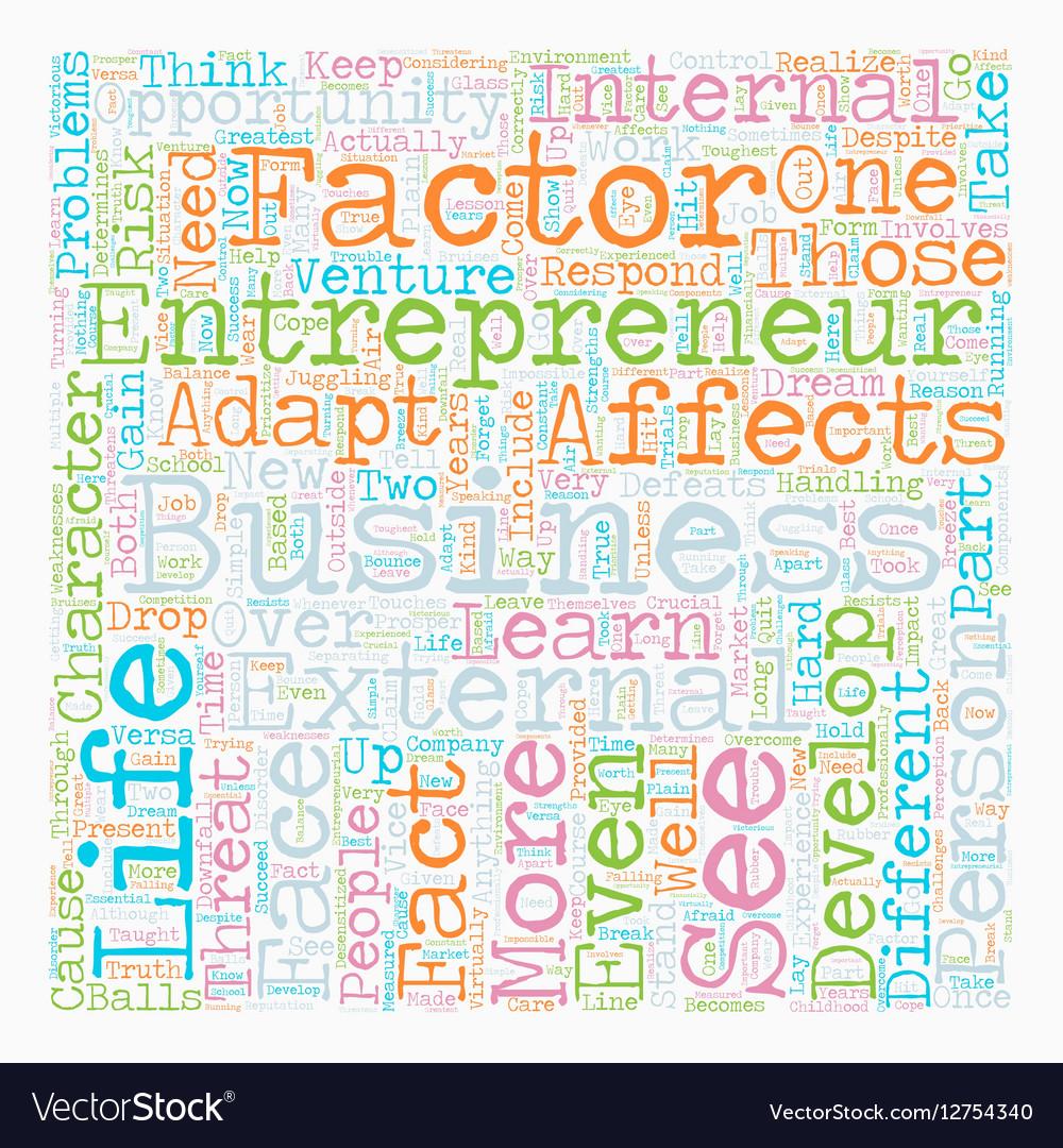 Personal development entrepreneur business text