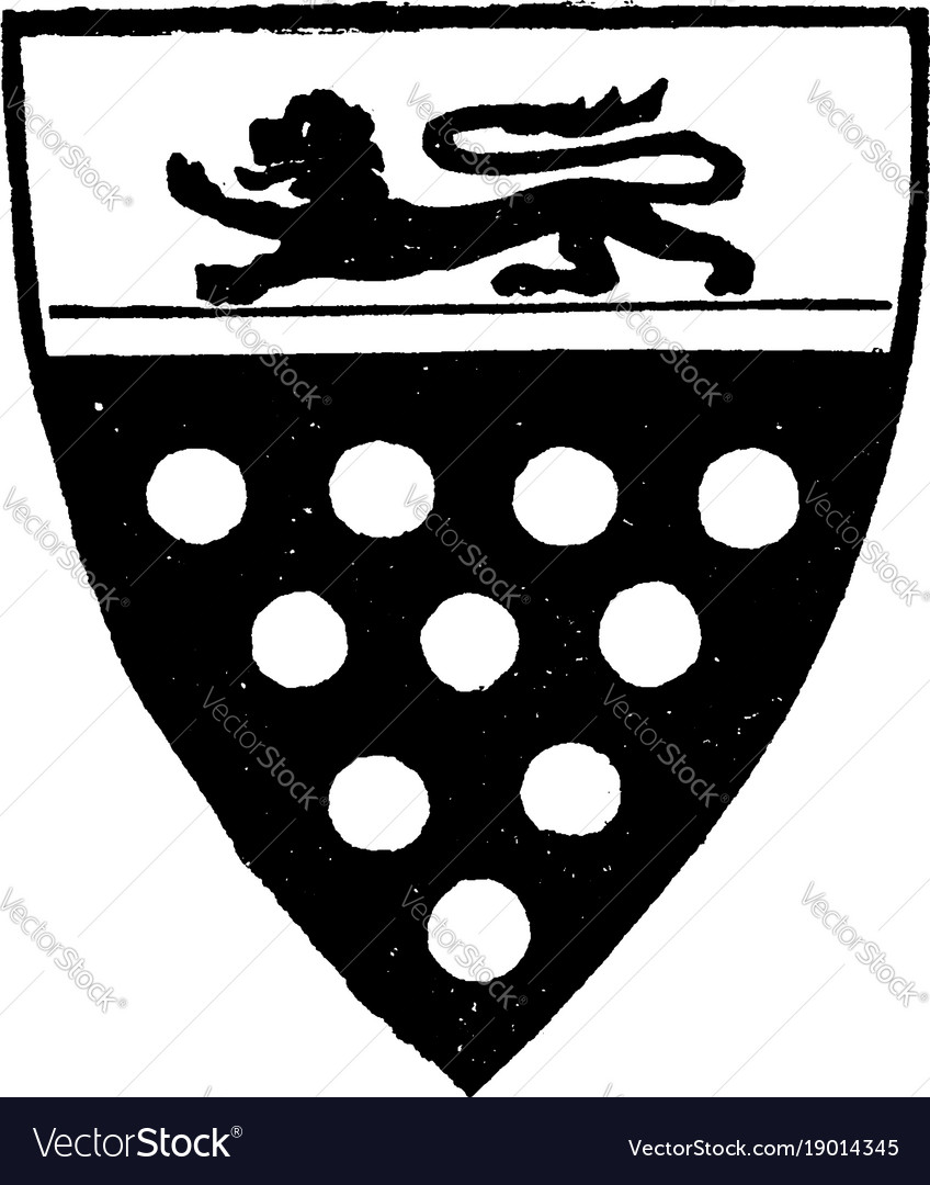 Earl of bradford estates and the title of the vector image