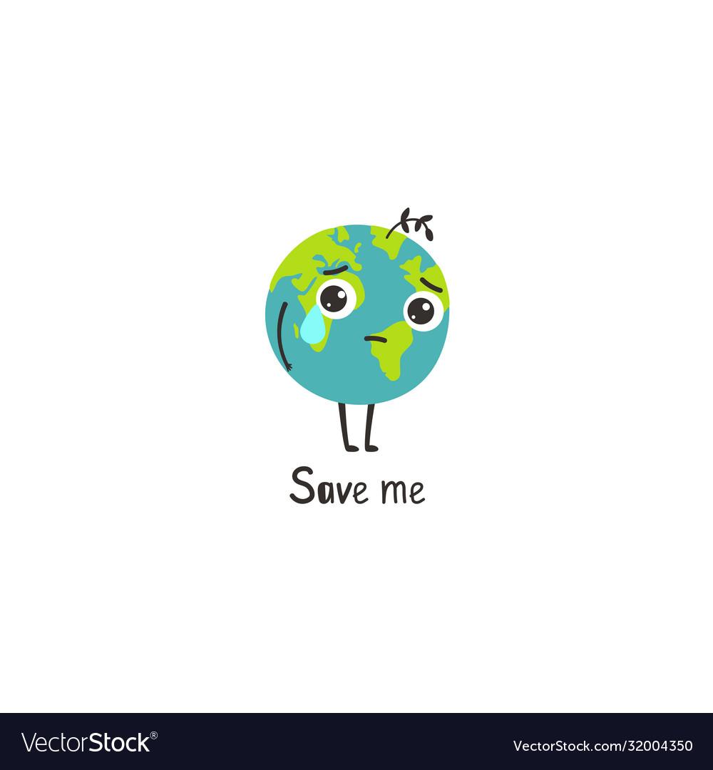 Sad planet earth
