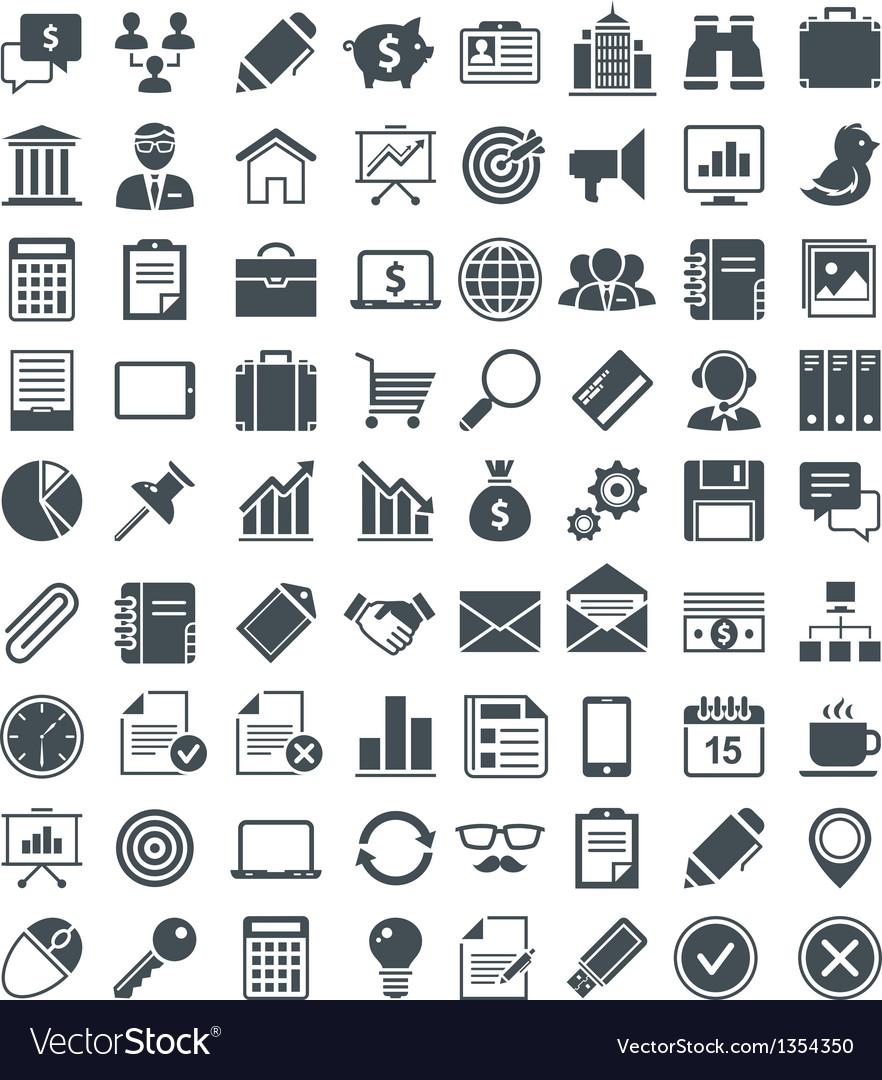 Set of useful icons