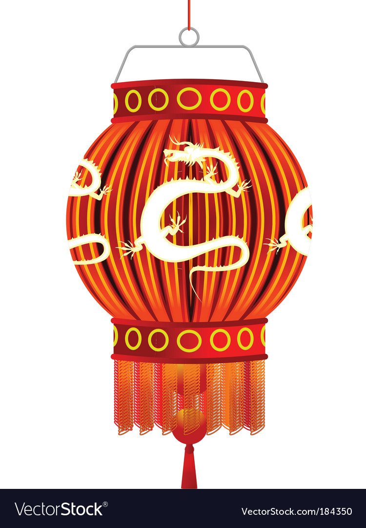 Traditional Chinese Lantern Royalty Free Vector Image