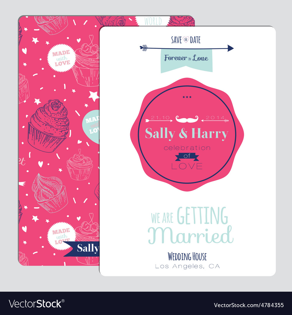 Wedding romantic floral Save the Date invitation