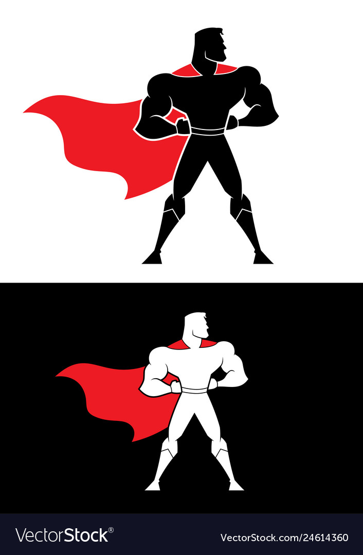 Superhero champion symbol