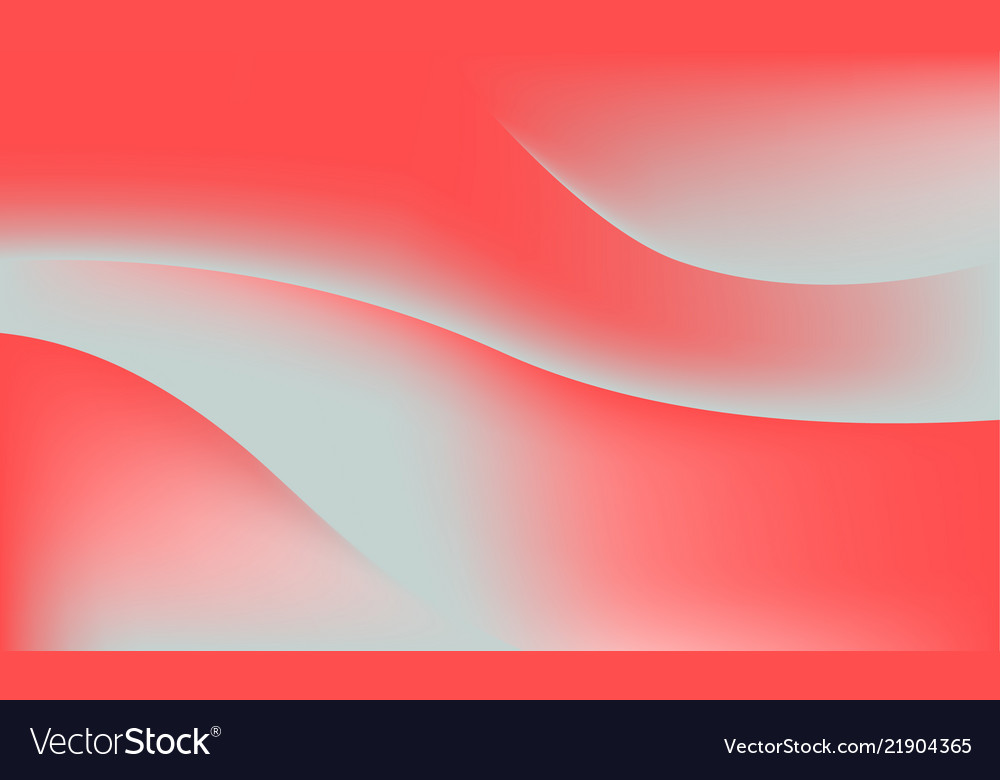 Abstract coral color soft gradient waves