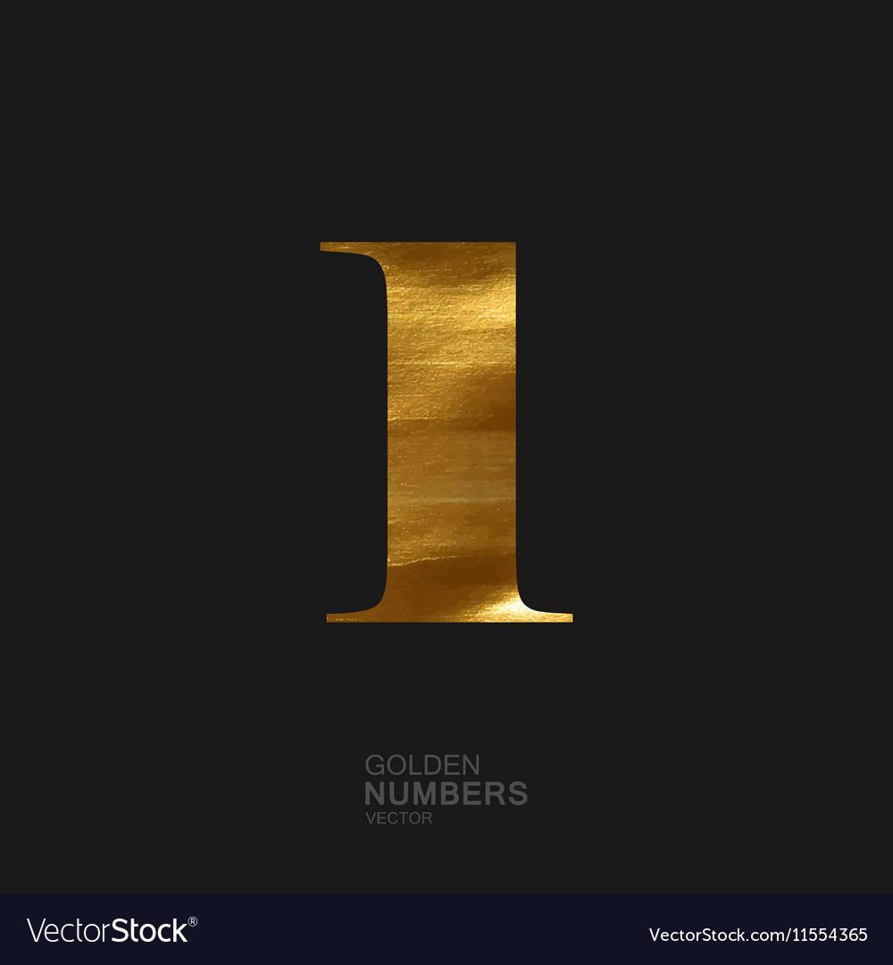 Golden number 1
