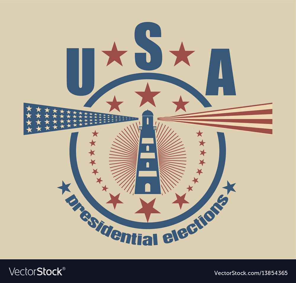 Usa presidential elections emblem