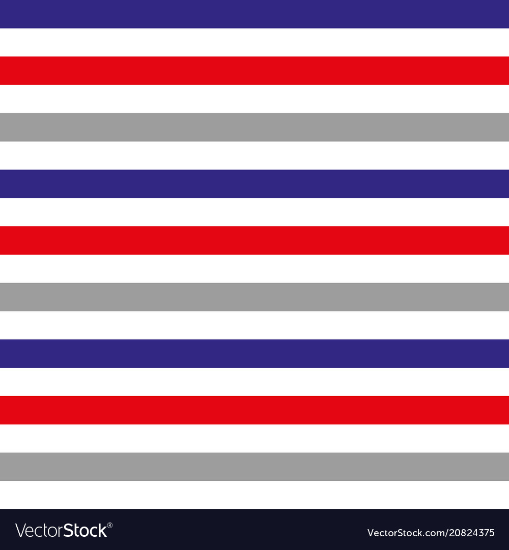 Abstract seamless horizontal striped pattern with