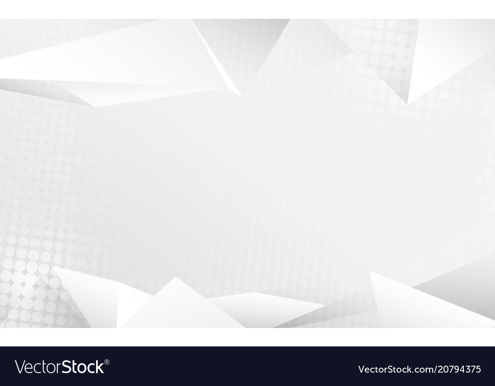 Abstract white crystals 3d background